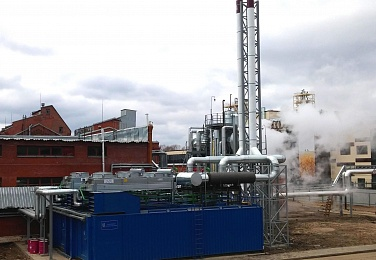Heat and power supply project implemented at one of the largest Russian distilleries